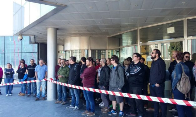 Paro de 24 horas en Telefónica Servicios Audiovisuales, TSA Aragón, el lunes día 5