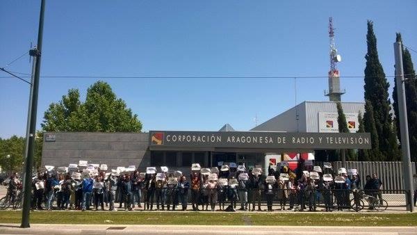 Huelga en CHIP Audivisual a partir de este #juevesnegrosATV que continuará hasta finales de mayo