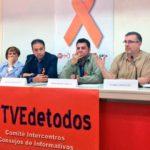 Los sindicatos denuncian la manipulación en RTVE