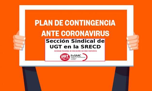 UGT denuncia que este lunes reabran el Archivo Histórico y las bibliotecas del Gobierno regional sin plan de contingencia coronavirus