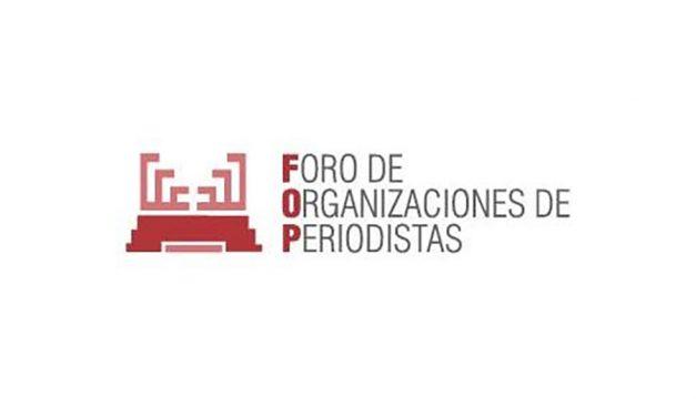 El Foro de Organizaciones de Periodistas pide a las empresas que extremen la protección de los periodistas ante la segunda ola de la Covid-19
