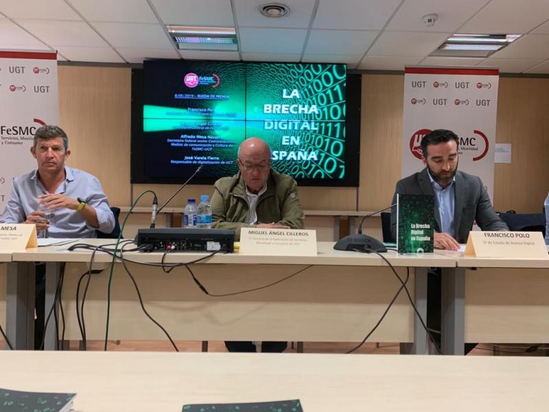 La brecha digital será sistémica en España si no se buscan soluciones definitivas